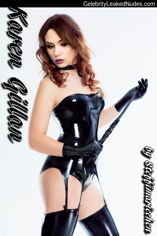fake nude celebs Karen Gillan 2 pic