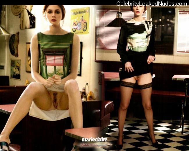 Celeb Naked Karen Gillan 1 pic