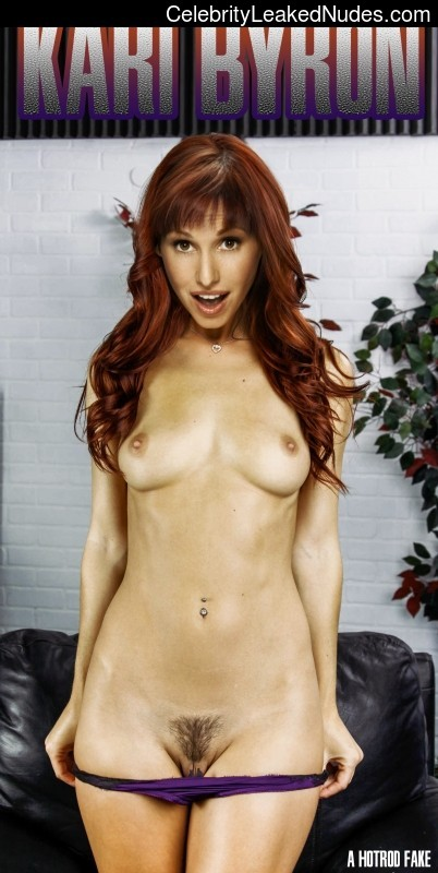 With you Kari byron nude fakes
