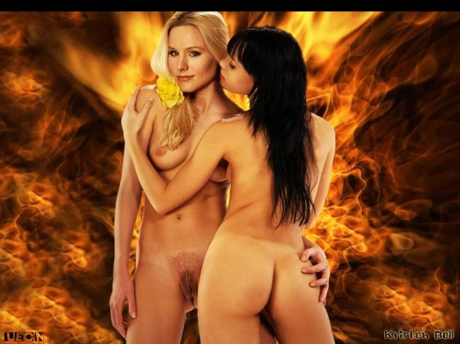 Famous Nude Kristen Bell 13 pic