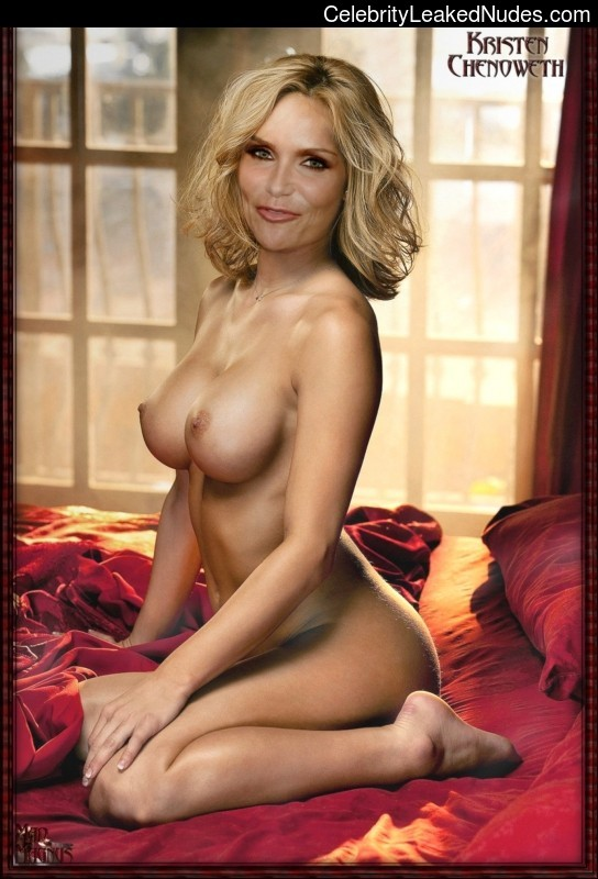 Can nude pictures of kristin chenoweth