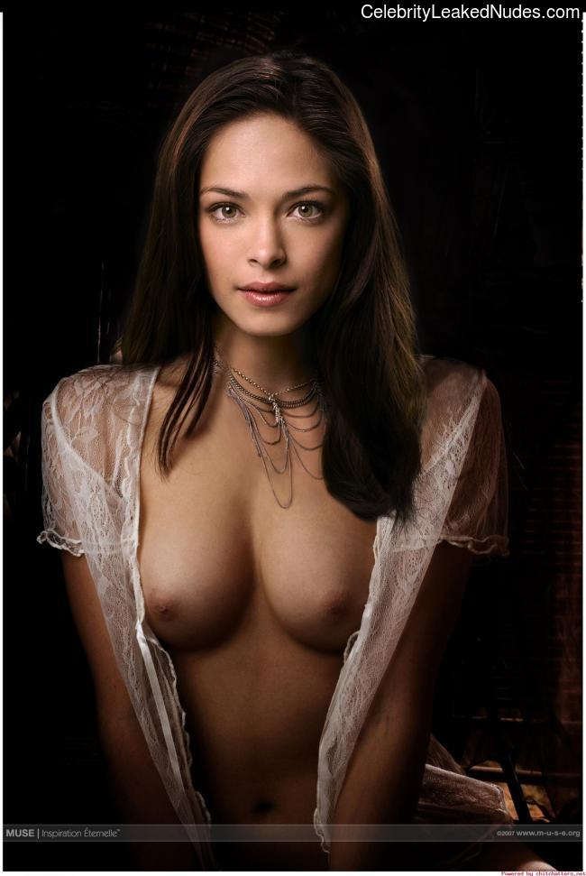 Newest Celebrity Nude Kristin Kreuk 13 pic