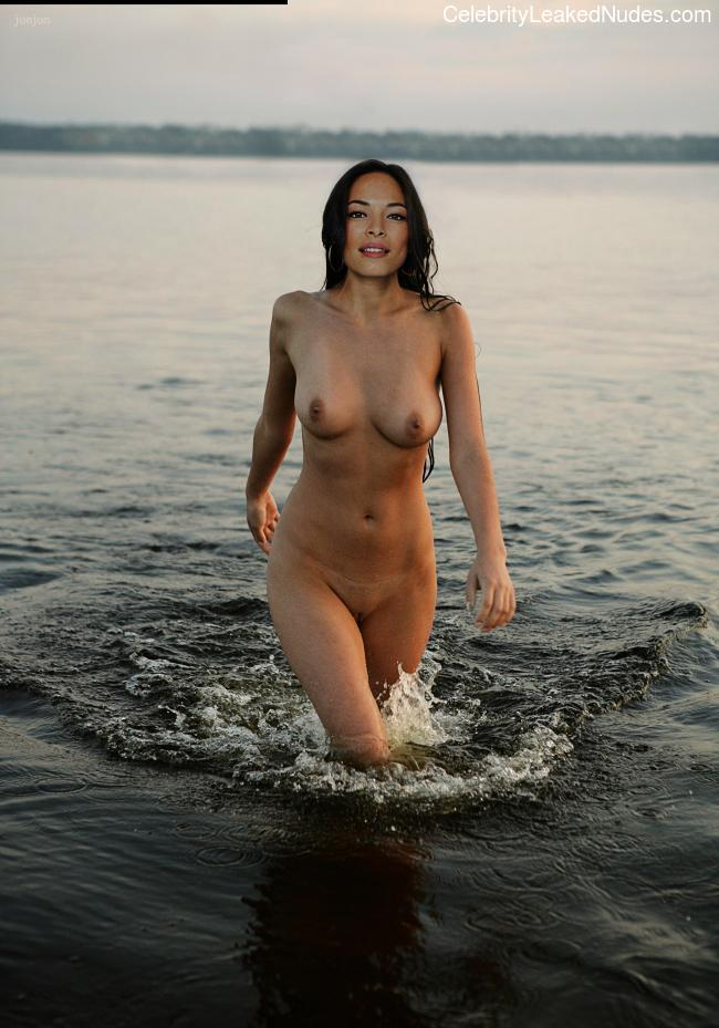 fake nude celebs Kristin Kreuk 15 pic