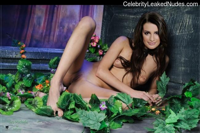 celeb nude Lea Michele 21 pic