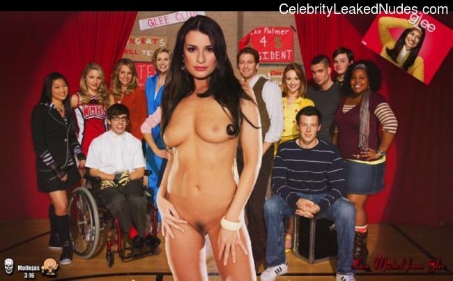 Celeb Nude Lea Michele 18 pic