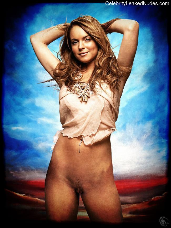 Celeb Naked Lindsay Lohan 2 pic