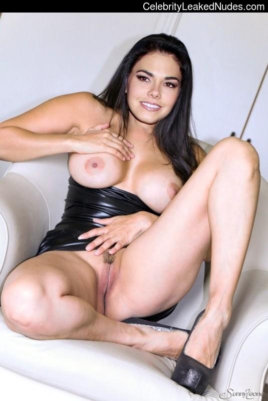 big boob naked touching