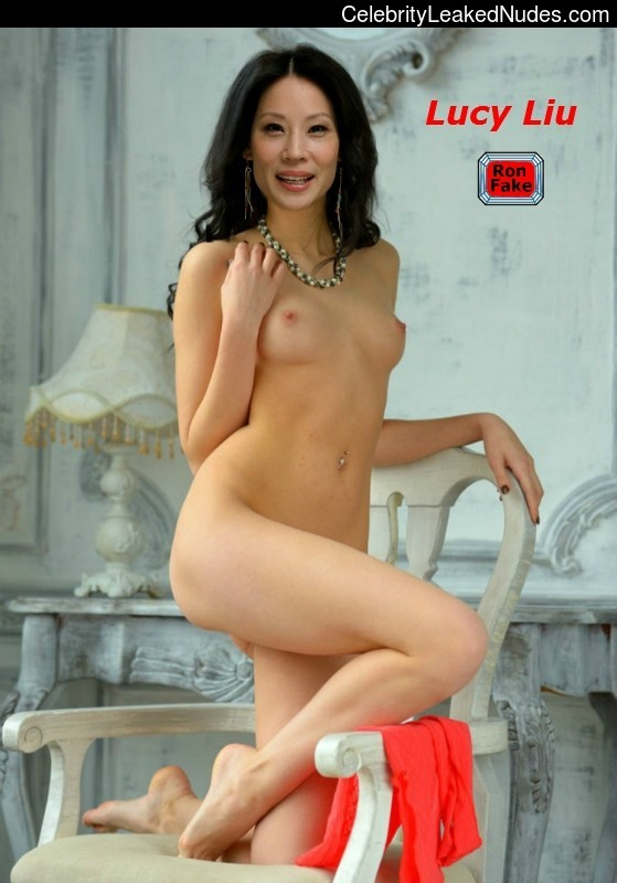 fakes nude Lucy liu