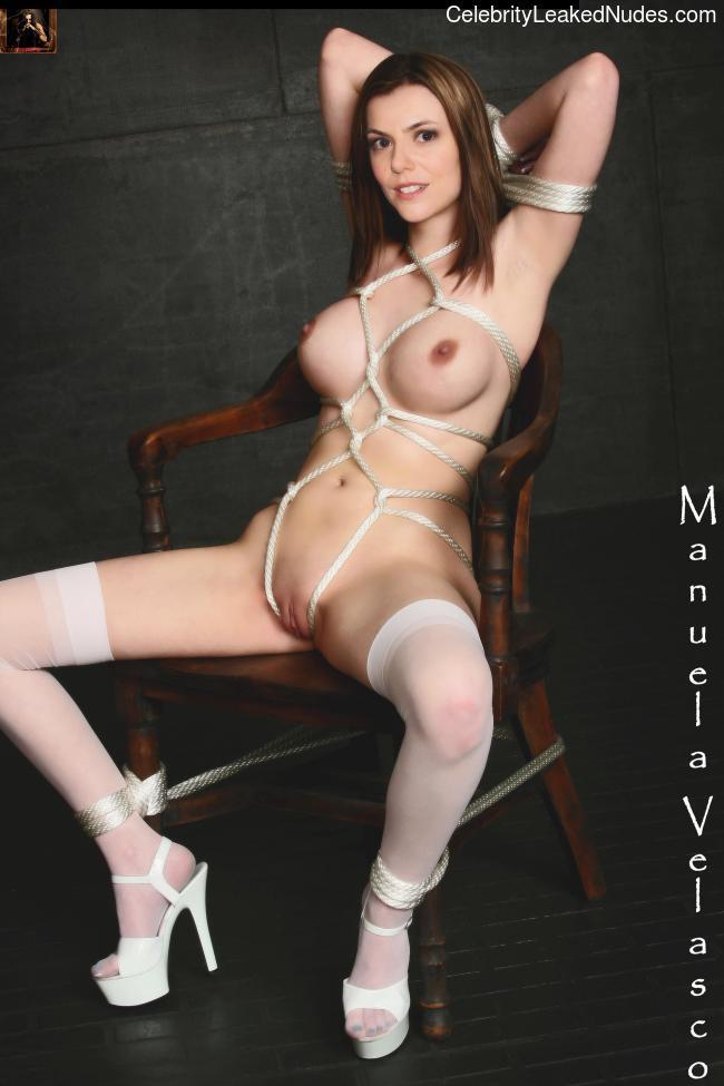 Manuela Velasco celebs nude