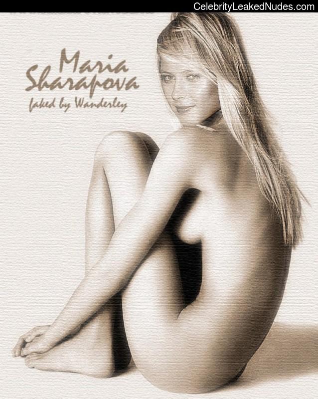 Obviously were Maria sharapova nude free