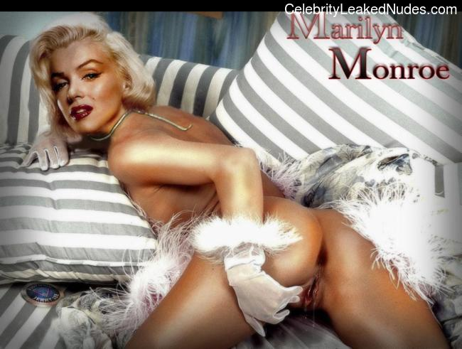 celeb nude Marilyn Monroe 2 pic