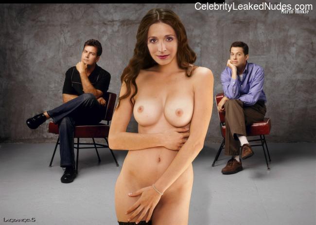 fake marin hinkle naked