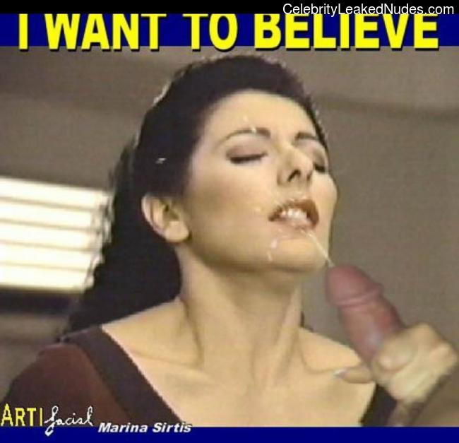 Marina Sirtis nude celebrities