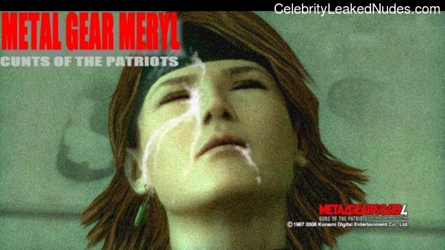 Metal Gear Solid nude celebrities