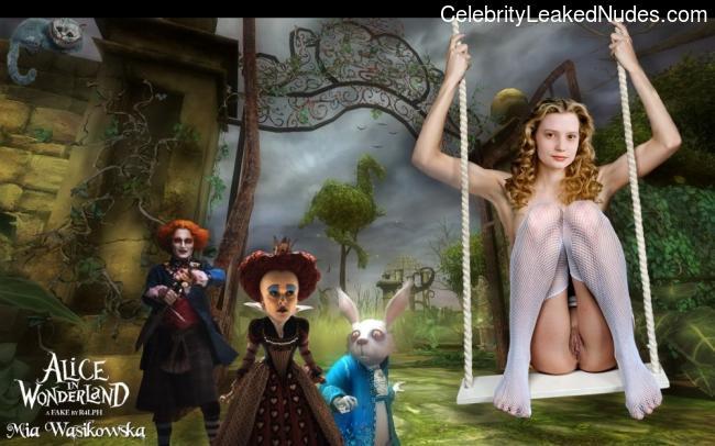 Celeb Naked Mia Wasikowska 28 pic