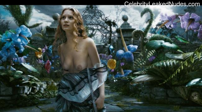 Celebrity Nude Pic Mia Wasikowska 5 pic