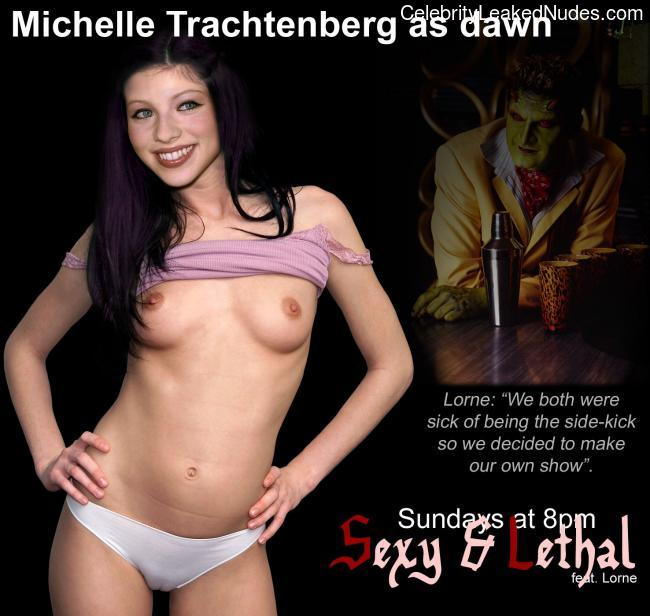 naked Michelle Trachtenberg 2 pic