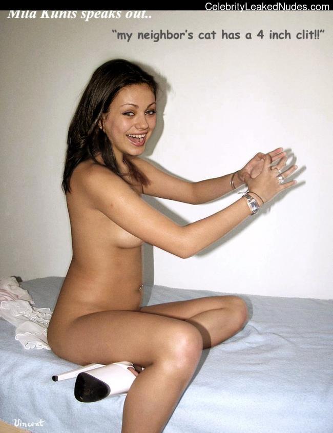 Naked Celebrity Pic Mila Kunis 2 pic