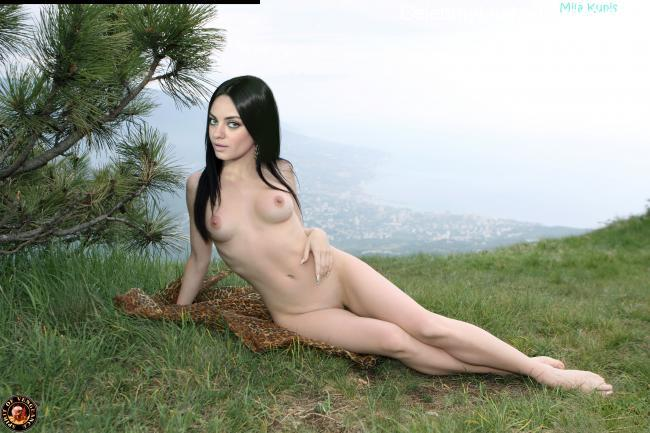 Best Celebrity Nude Mila Kunis 6 pic