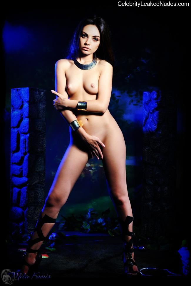 Naked celebrity picture Mila Kunis 19 pic