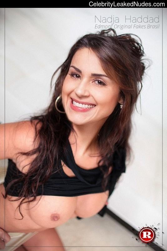 Nude Celeb Nadja Haddad 2 pic