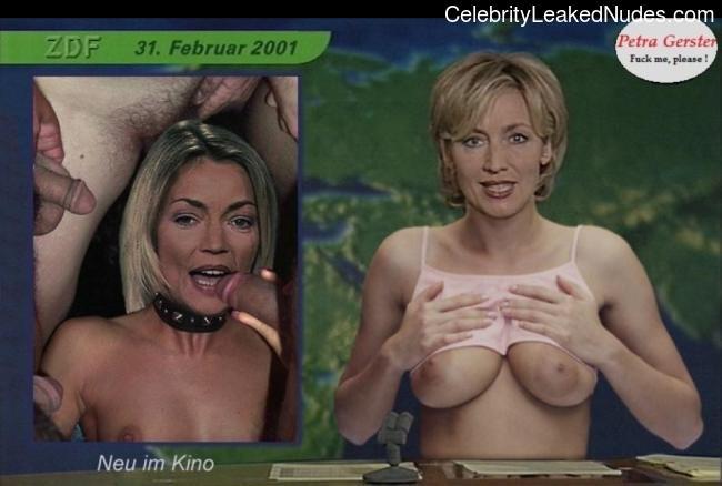 Best Celebrity Nude Petra Gerster 13 pic