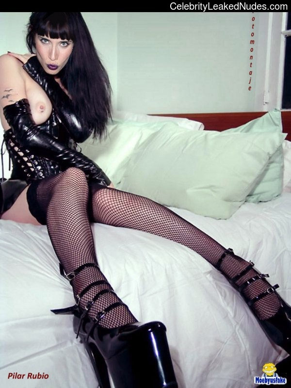 Celebrity Nude Pic Pilar Rubio 9 pic
