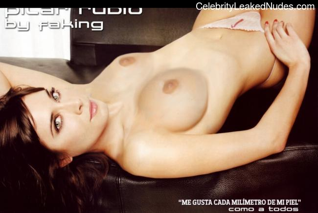 Pilar Rubio naked celebrity pictures
