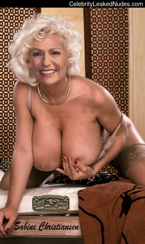 Sabine Christiansen nude celebs