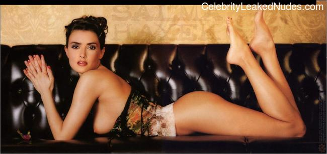 Real Celebrity Nude Salma Hayek 19 pic