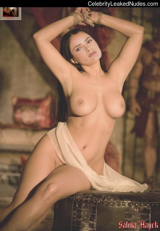 fake nude celebs Salma Hayek 9 pic