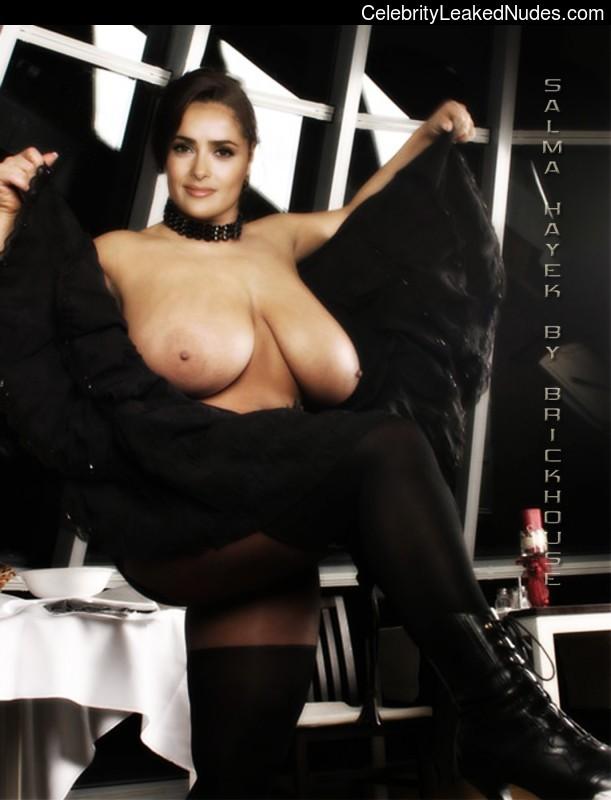 Real Celebrity Nude Salma Hayek 4 pic