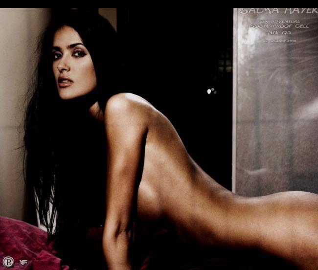 Famous Nude Salma Hayek 2 pic