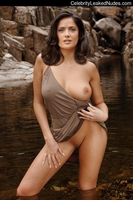 Celeb Naked Salma Hayek 30 pic