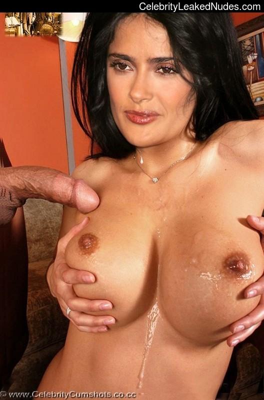 fake nude celebs Salma Hayek 15 pic