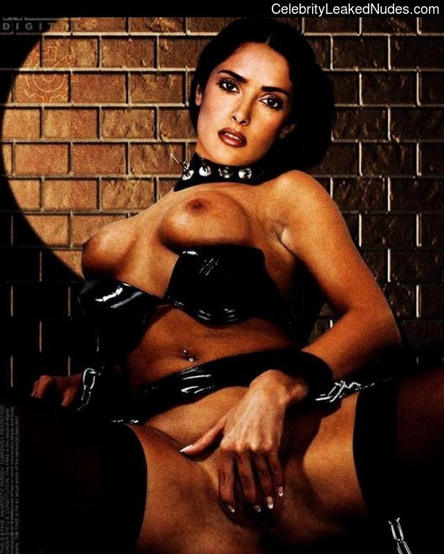 Naked celebrity picture Salma Hayek 4 pic