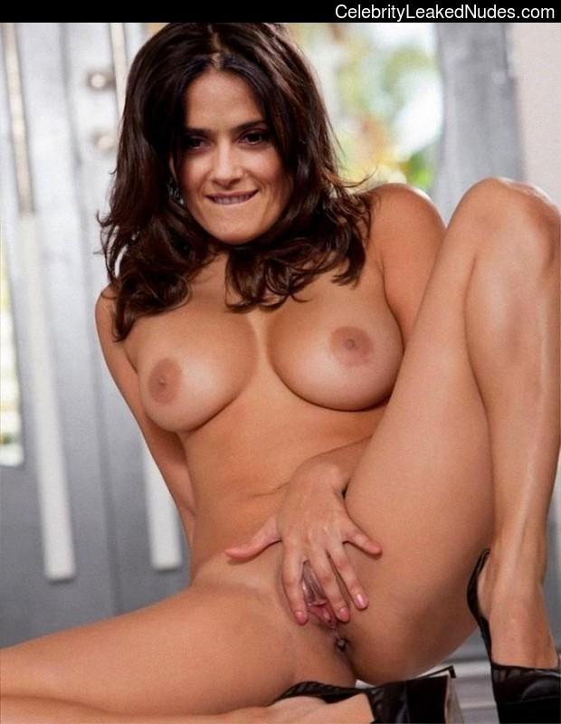 Hot Naked Celeb Salma Hayek 4 pic