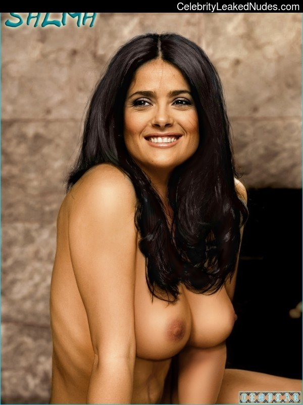 Famous Nude Salma Hayek 9 pic