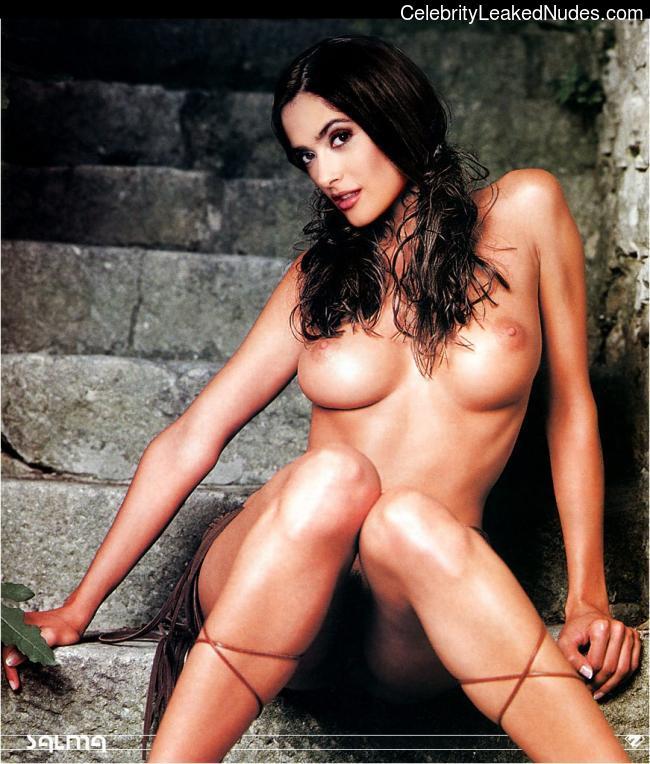 nude pics of selma hayek № 75898
