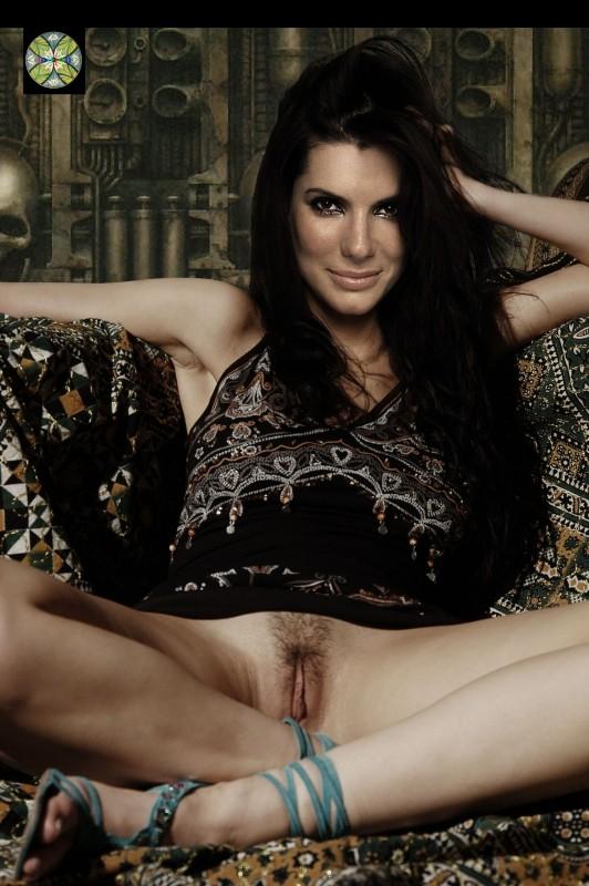Sandra Bullock celeb nude