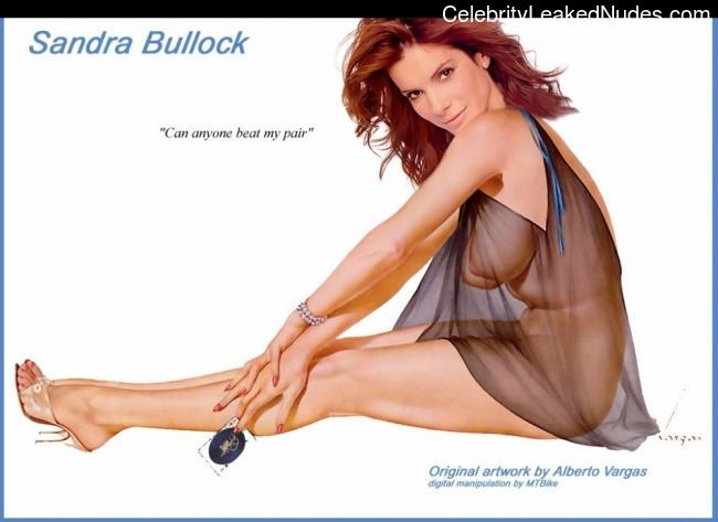 nude celebrities Sandra Bullock 8 pic