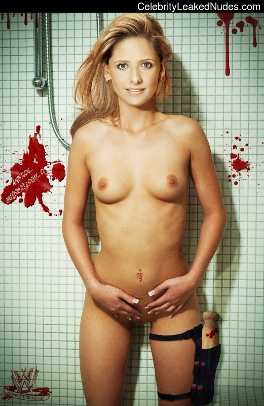 Celebrity Leaked Nude Photo Sarah Michelle Gellar 1 pic