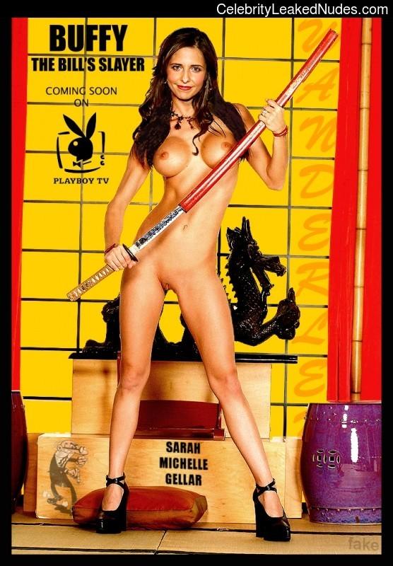 Newest Celebrity Nude Sarah Michelle Gellar 5 pic