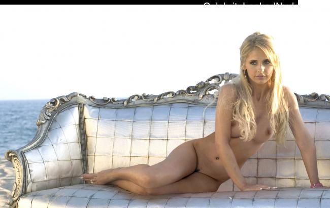 Celebrity Naked Sarah Michelle Gellar 3 pic