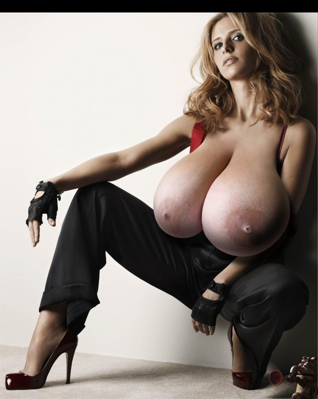Naked celebrity picture Sarah Michelle Gellar 4 pic