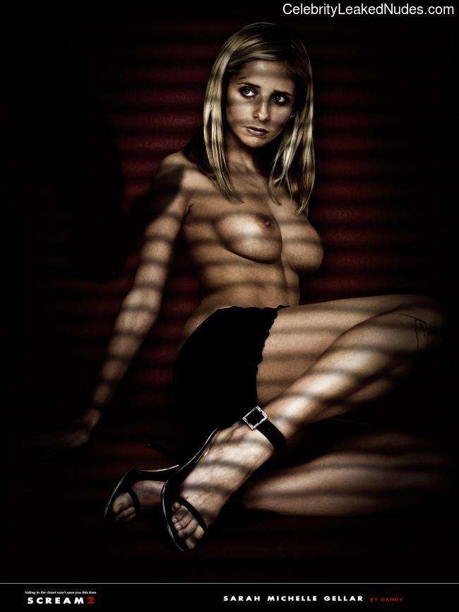 Newest Celebrity Nude Sarah Michelle Gellar 6 pic