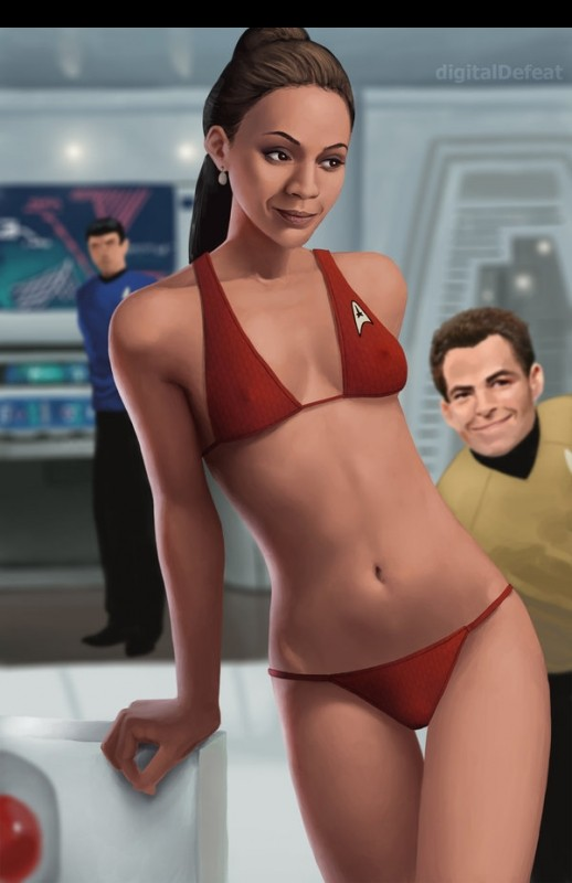 Star Trek naked celebrities