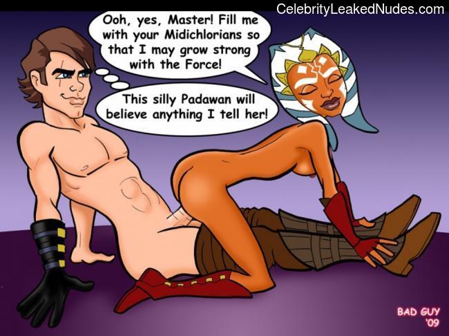 fake nude celebs Star Wars 2 pic