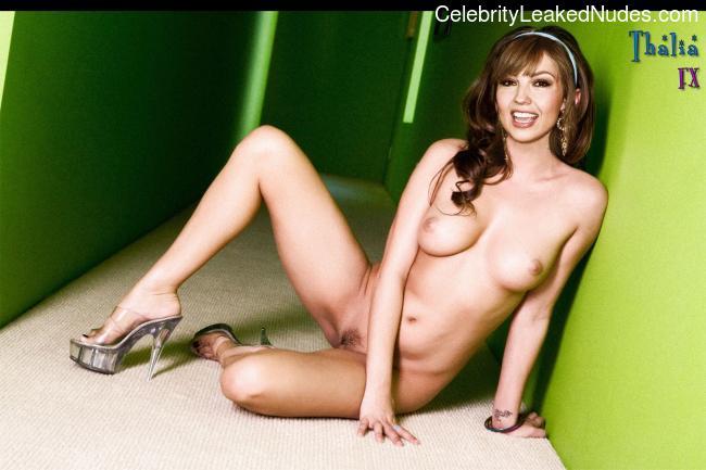 Thalía nude celebrities