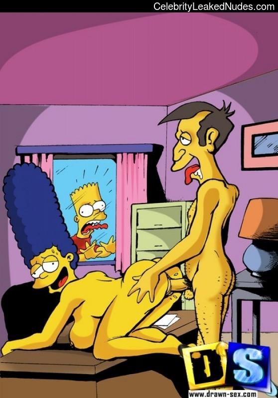 пародия порно симсоны